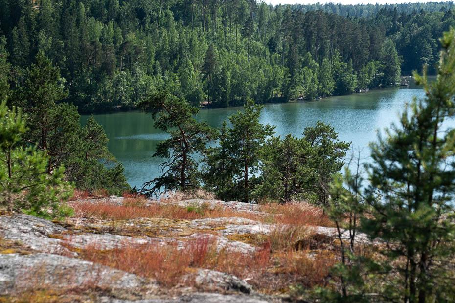 Vitträsk zilais ezers