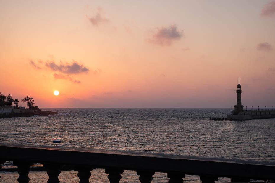 saulriets Aleksandrijā