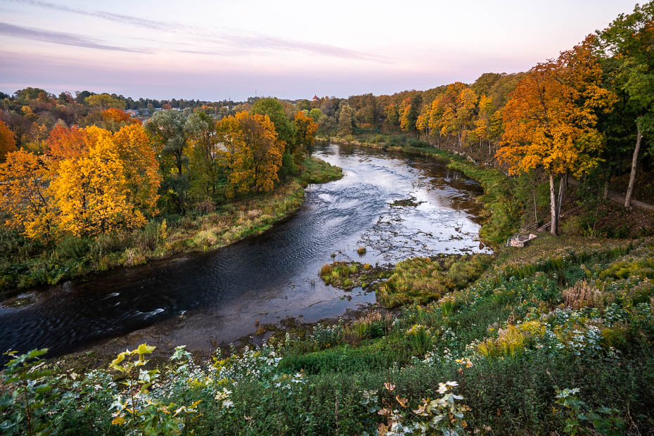 Instagramīgākās skaistākās labākās vietas Latvijā zelta rudenī