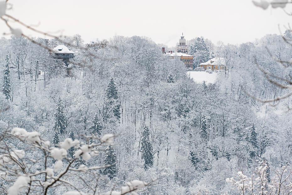 Skaistakās vietas Latvijā ziemā