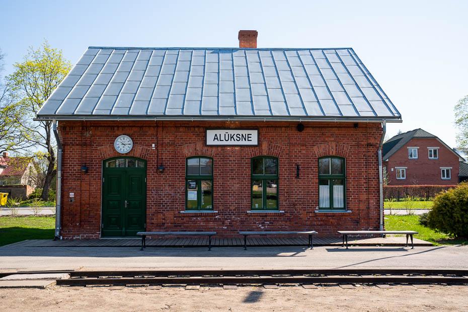 alūksnes šaursliežu dzezceļa stacija