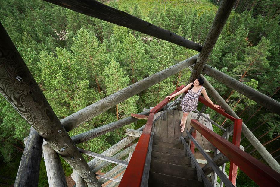 Alīna Andrušaite Ūdrkalna skatu tornis