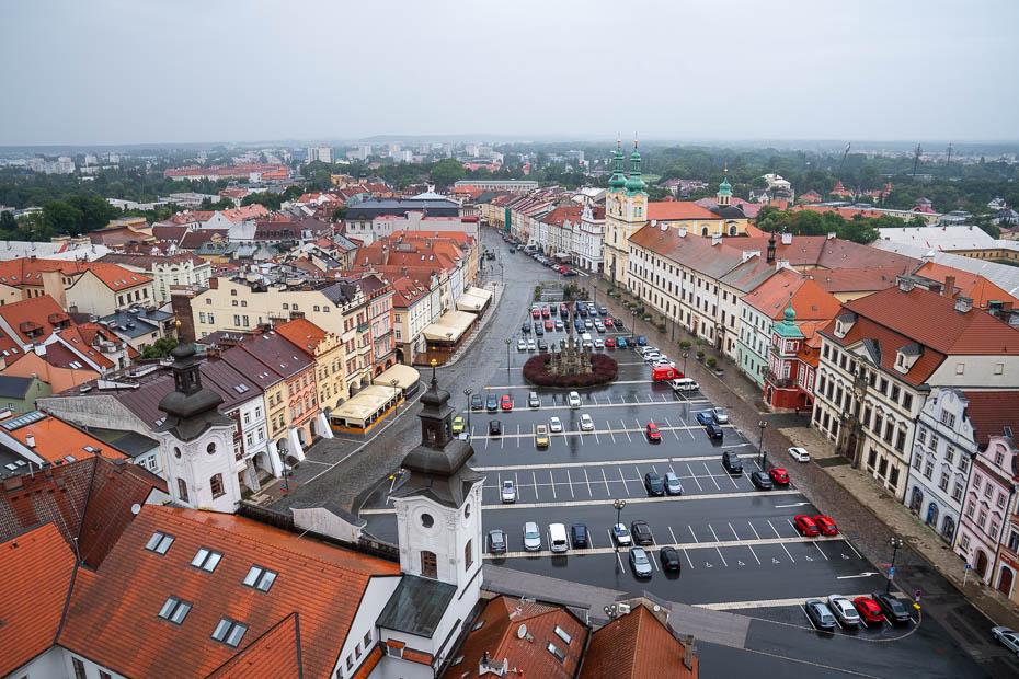 Kradeckrālove no Bílá věž torņa Čehija