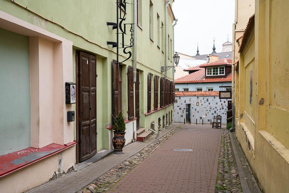 literātu gatve Viļņa