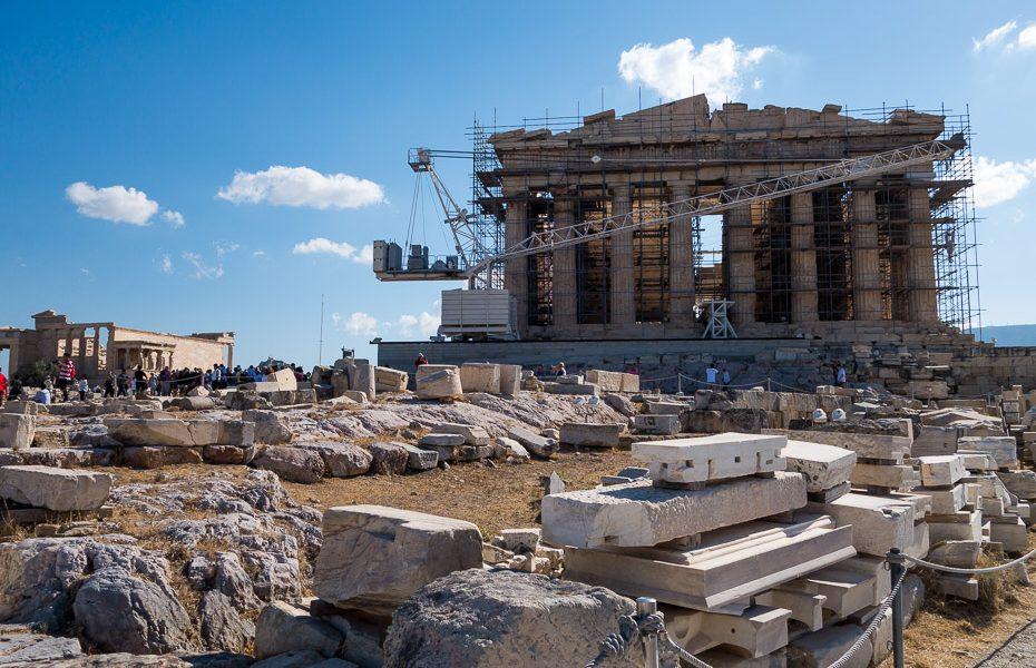 Akropole Partenons
