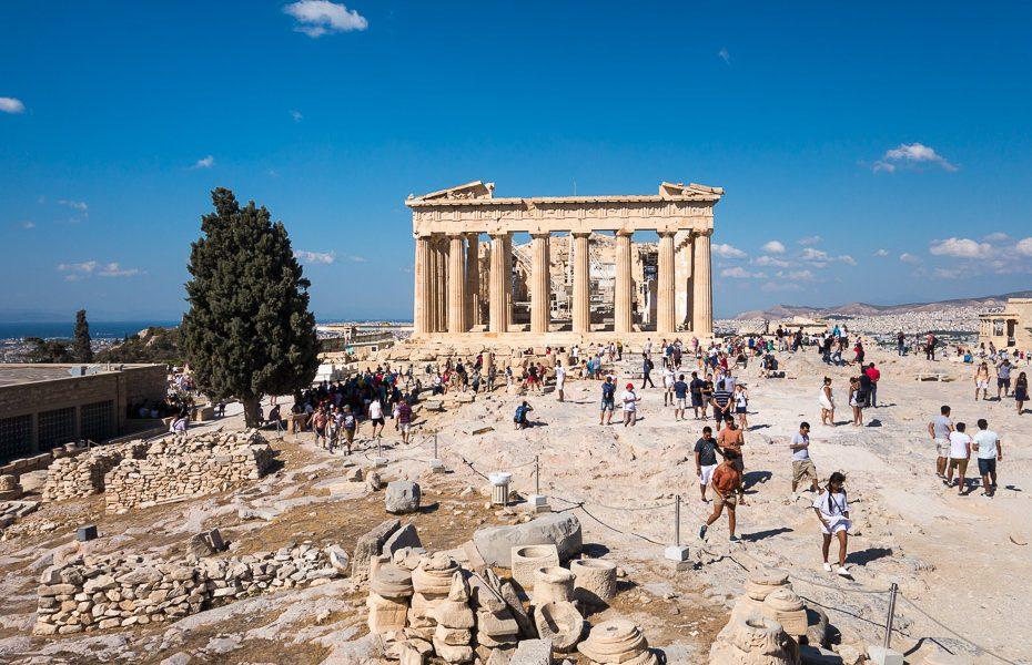Partenona templis Akropole