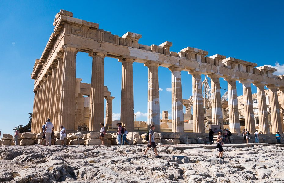 Akropole Partenona templis