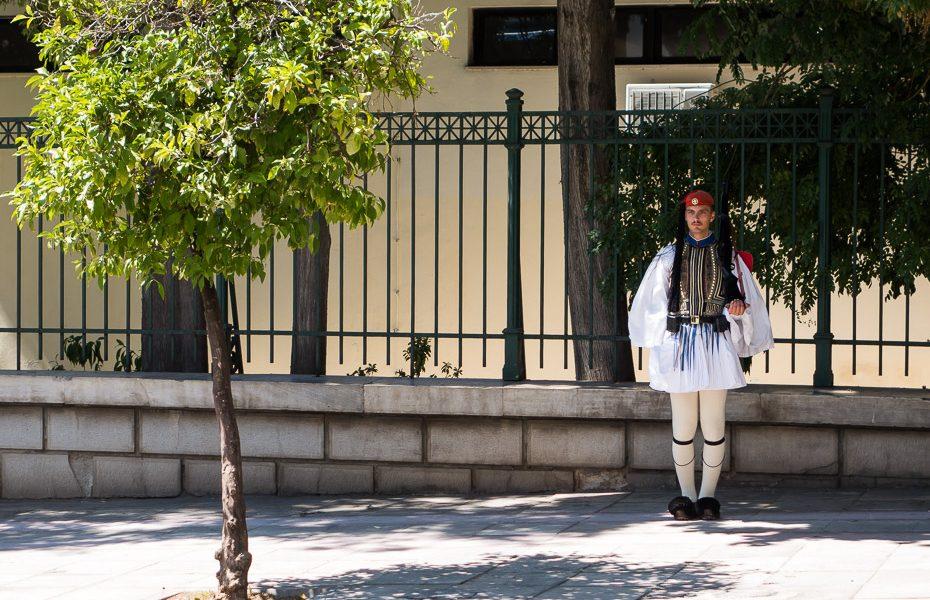 Grieķija goda sardze
