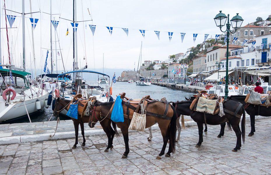 Izbrauciens ar ēzelīti grieķu salās