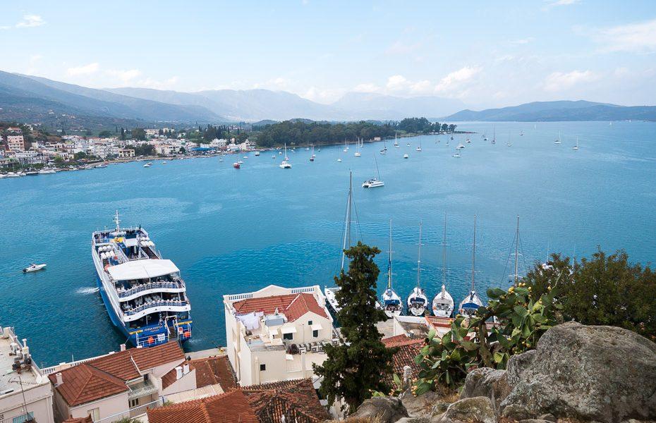 Ar prāmi pa Grieķija salām