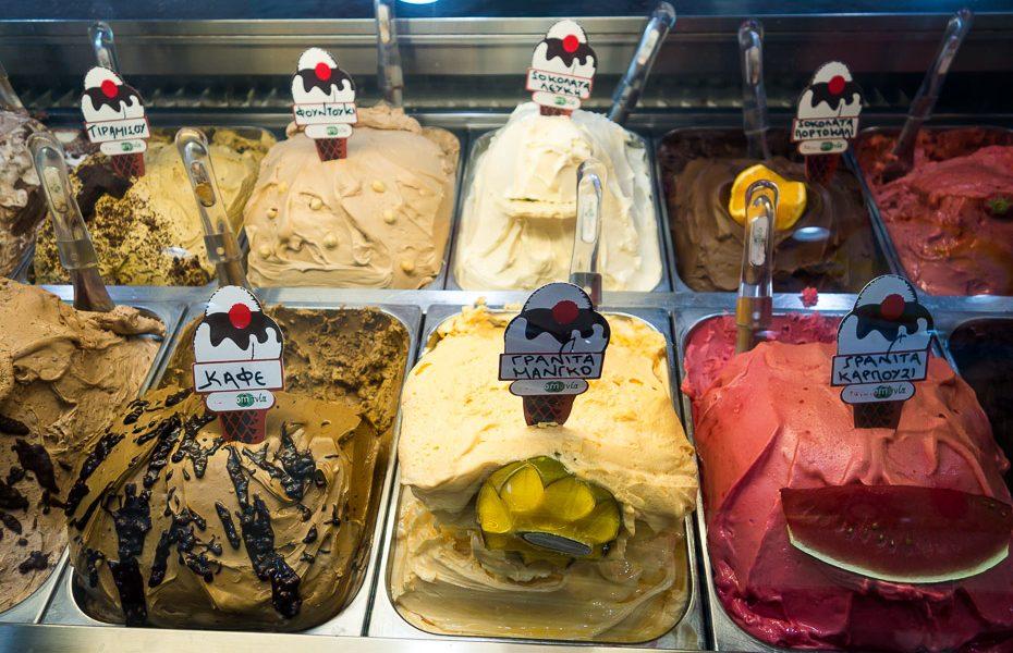 Saldējums Grieķijā