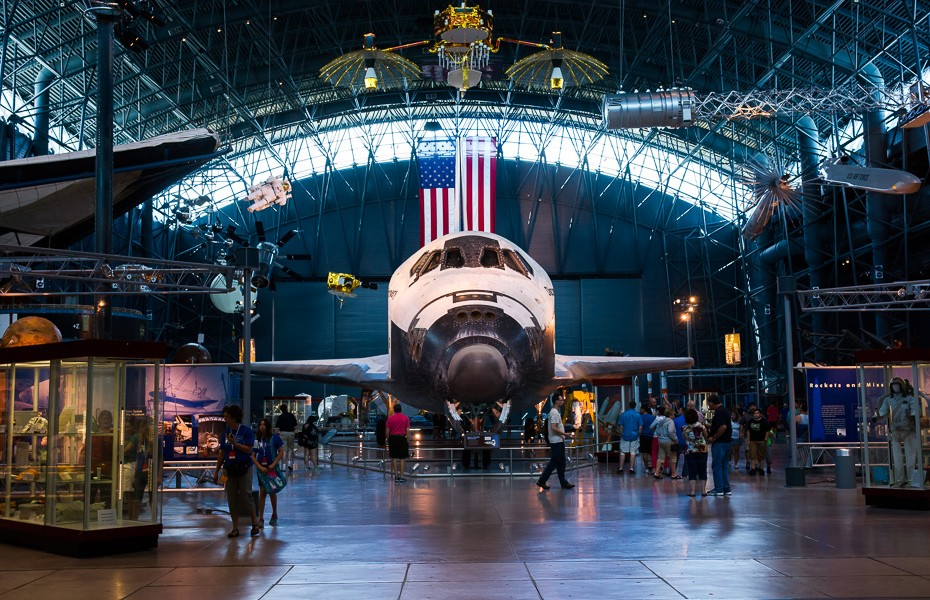 discovery space shuttle washington
