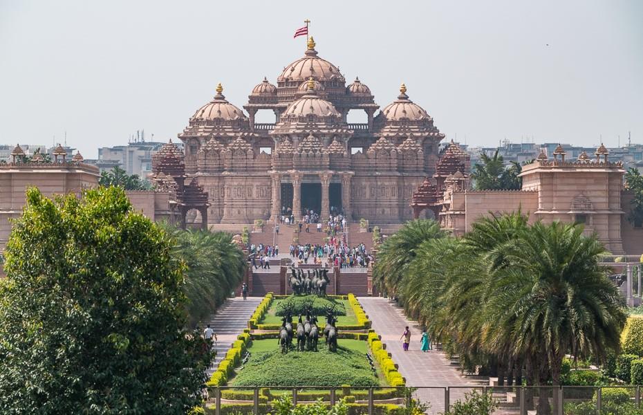 Swaminarayan Akshardham templis deli indija