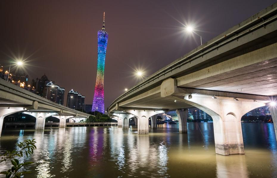 guandžou kantonas tornis
