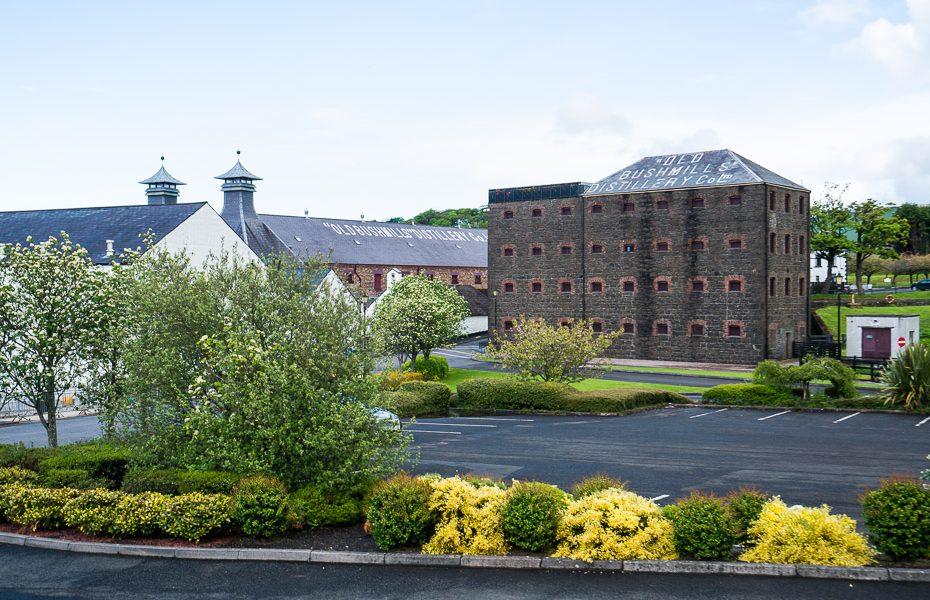 bushmills viskijs ziemeļīrijā