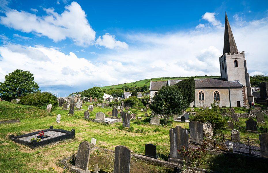 piekrastes pilsētas ziemeļīrijā