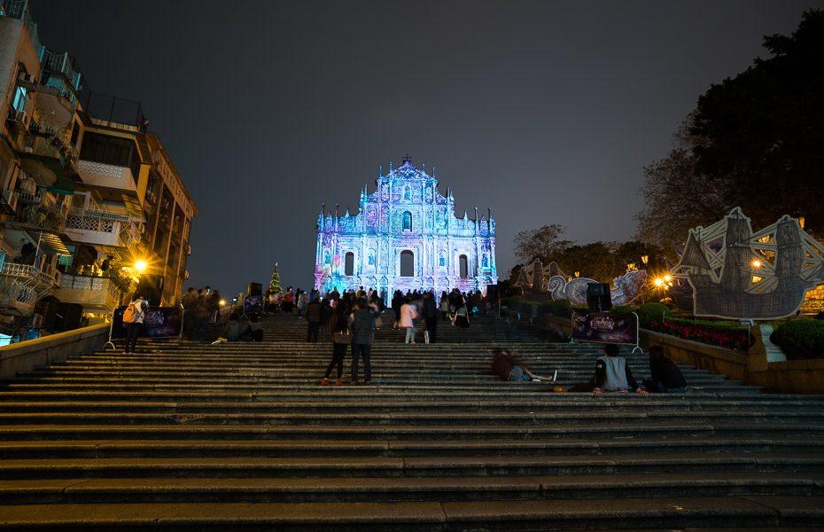 svētā paula drupas makao gaismas festivāls