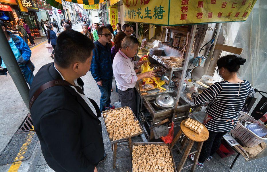 vietējo ielas ēdiens makao