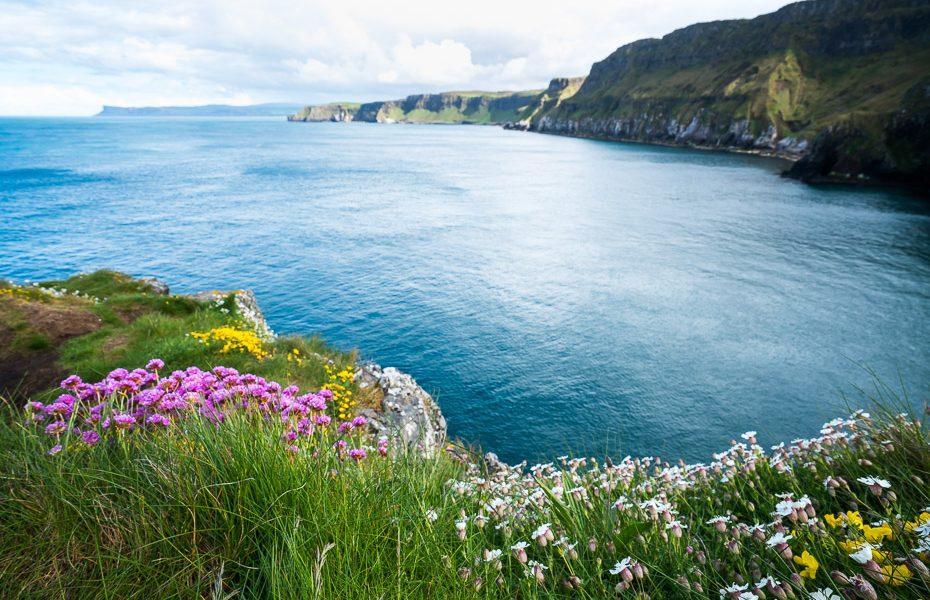 ziemeļīrijas skarbā skaistā daba