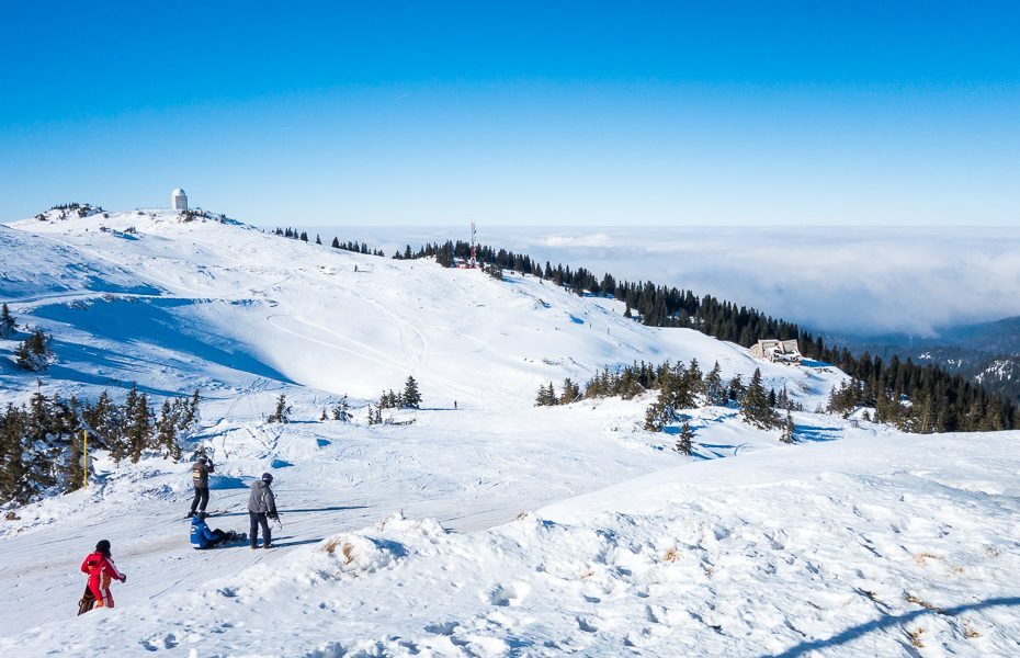 jahorinas slēpošanas trases