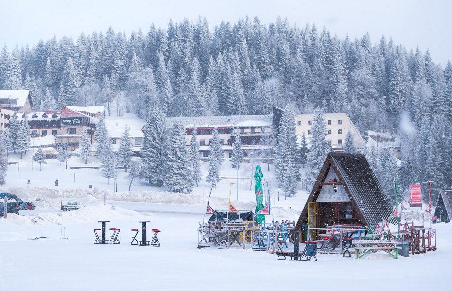 slēpošana bosnijas dināras alpos