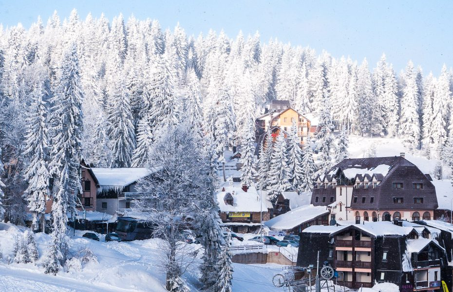 slēpošanas trases bosnijā